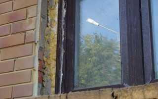Откосы на окна наружные из пенопласта