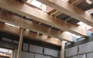 Как проводится расчет балки деревянной?