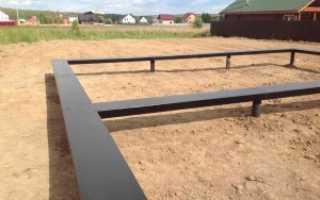 Как сделать фундамент в болотистой местности?