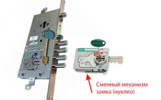 Как перекодировать кодовый замок на входной двери