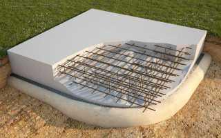 Из каких слоев состоит конструкция фундаментной плиты?