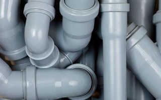 Виды и соединение труб для канализации
